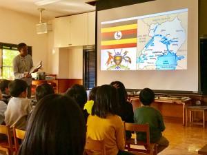 ウガンダ国旗の話